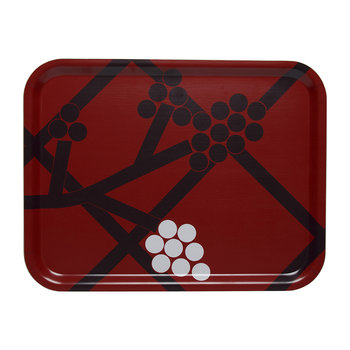 Hortensie Tray - Red/Black/White