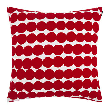 Rasymatto Pillow - 50x50cm - Red/White
