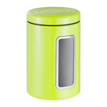 Classic Line Canister with Window - 2L - Lime Green