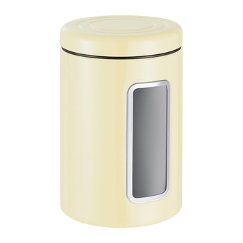 Classic Line Canister with Window - 2L - Almond