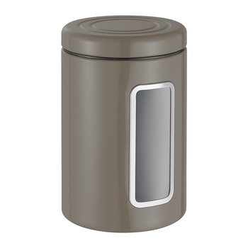 Classic Line Canister with Window - 2L - Warm Grey