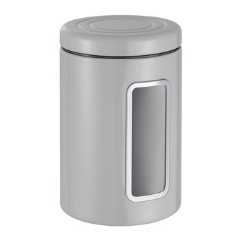 Classic Line Canister with Window - 2L - Cool Gray
