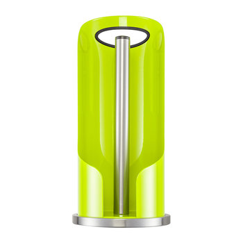 Kitchen Roll Holder with Handle - Lime Green