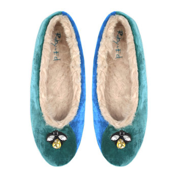 Women's Viridian Bee Ballerina Slipper