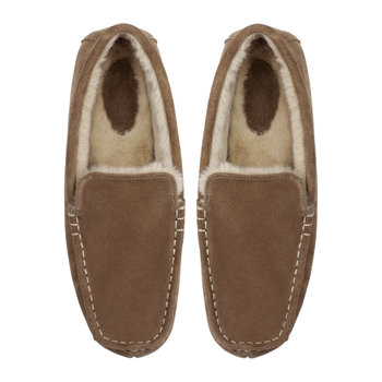Men's Chestnut Suede Moccasin