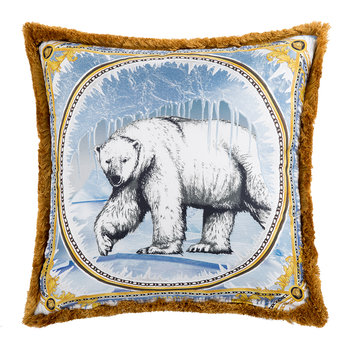 Silk Animal Cushion - 50x50cm - Ben