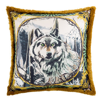 Coussin Animal en Soie - 50x50cm - Harry
