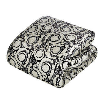Bavelvet Bedspread - Super King - Black