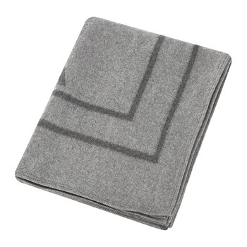 Shadov Reversible Throw - 140x180cm - Grey