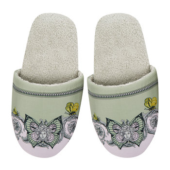 Le Jardin Slippers - Green
