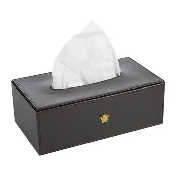 Medusa Tissue Box - Brown