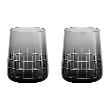 Graphik Goblets - Set of 2 - Grey