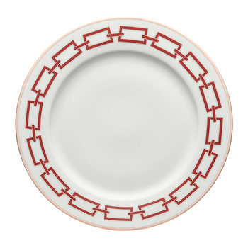 Catene Charger Plate - Scarlatto