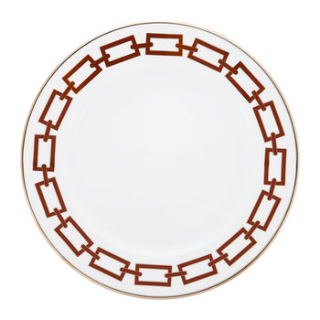 Catene Dinner Plate - Scarlatto
