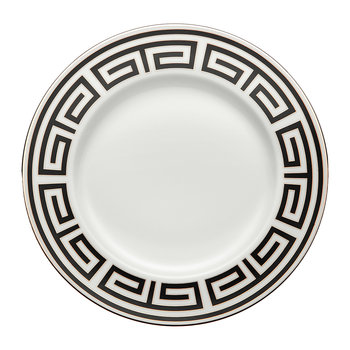 Labirinto Charger Plate - Nero