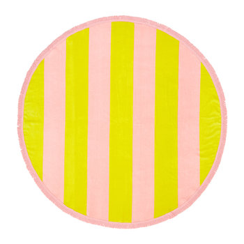 All Around Giant Circle Towel - Beverly Stripe