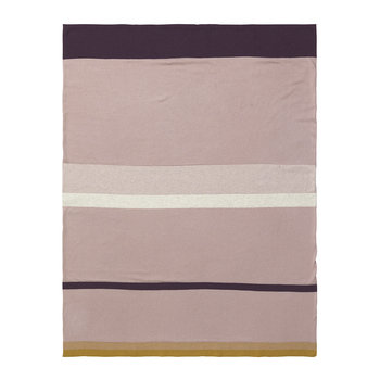 Little Stripy Blanket - Rose