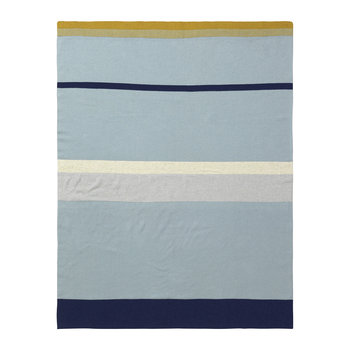 Little Stripy Blanket - Blue