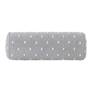 Popcorn Bolster Pillow - Grey