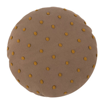 Popcorn Round Cushion - Dusty Rose