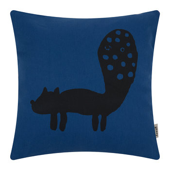 Fox Cushion - Dark Blue