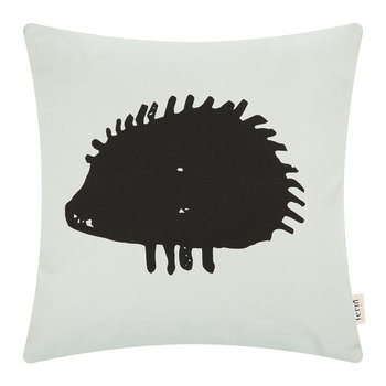Hedgehog Pillow - Mint