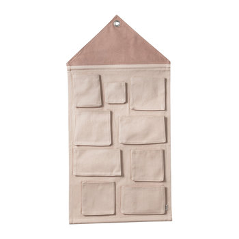 Hanging House Wall Storage - Rose