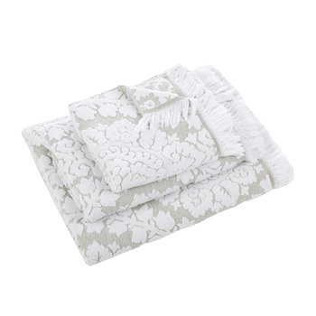 Bulgarie Towel - White