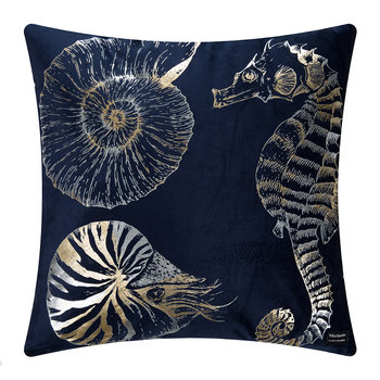 Moorea Cushion - 50x50cm - Navy