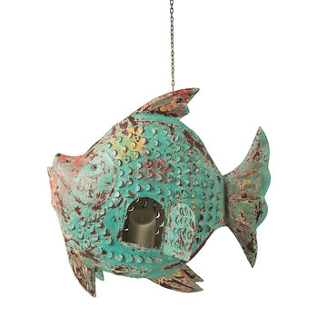 Lagoon Hanging Fish Tealight Holder