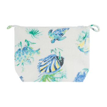 Aquarium Cosmetics Bag - Lagoon