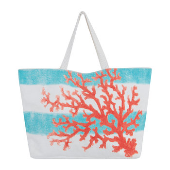 Beaurivage Shopper - Coral