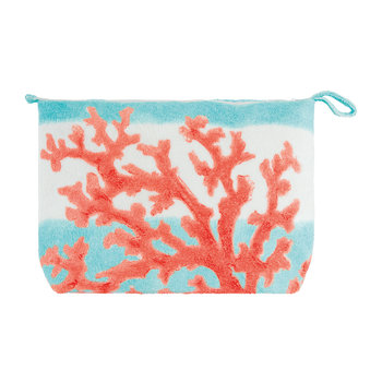 Beaurivage Cosmetics Bag - Coral