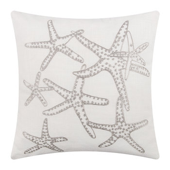 Majorque Cushion - 65x65cm - White/Grey
