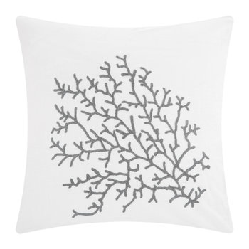 Palma Cushion - 65x65cm - White/Grey