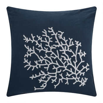 Palma Cushion - 65x65cm - Navy