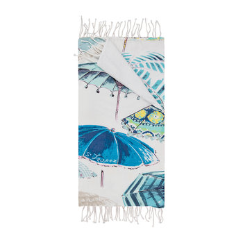 Solenzara Beach Towel - Blue
