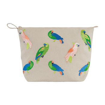 Parrot Cosmetics Bag - Natural