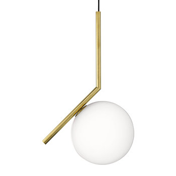 IC Suspension Light - Brushed Brass