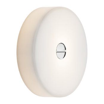 Mini Button IP44 Wall/Ceiling Light - White