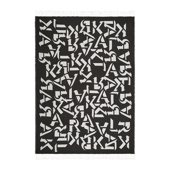 Alphabet Throw - 130x170cm