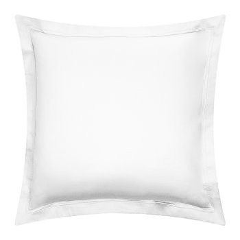 Triomphe Sateen Pillowcase - White - 65x65cm
