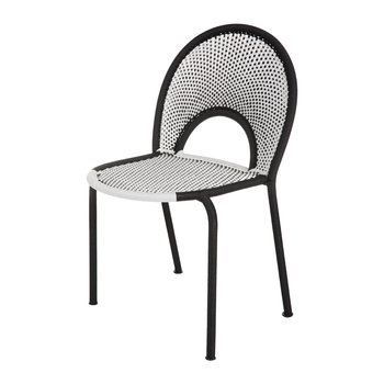 Banjooli Chair - White/Black