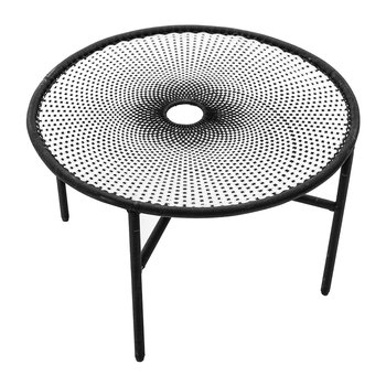 Banjooli Dining Table - White/Black