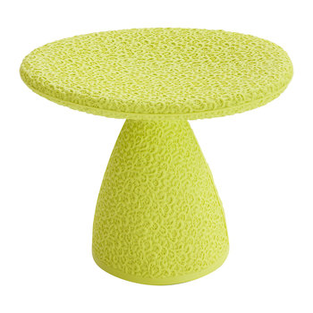 Shitake Stool - Fluorescent Green