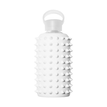 Glass Water Bottle with Spikes - 500ml - Winter