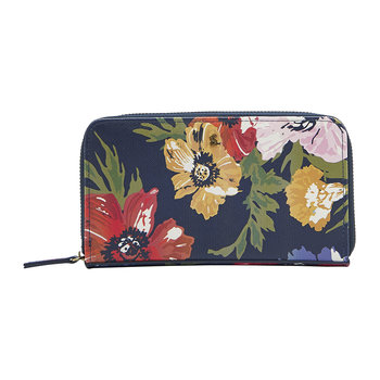 Fairford Bright Purse - French Navy Posy