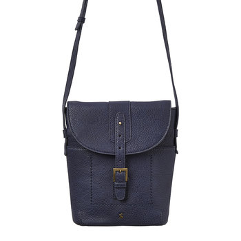 Tourer Bright Cross-Body Bag - French Navy