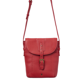 Tourer Bright Cross-Body Bag - Red