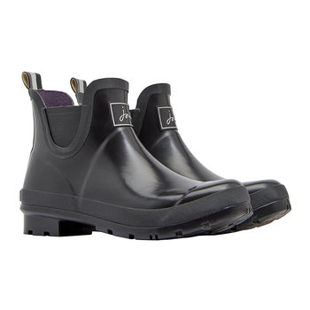 Women's Wellibob Short Black Wellies